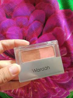 Wardah blush on tipe A