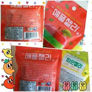 韓國7-11限定 蘋果味軟糖