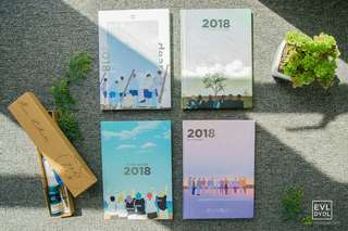 ON HAND KPOP 2018 PLANNERS
