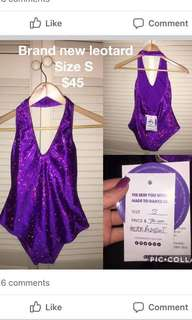 Purple festival bodysuit