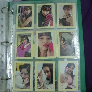 Twice Twicetagram Preoder Benefit Photocard Set