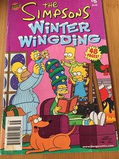 Simpsons' Winter Wingding #5 comics group bongo