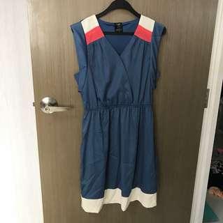 BNIP Blue Work Dress