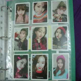 Twice Merry & Happy Preoder Benefit Photocard Set