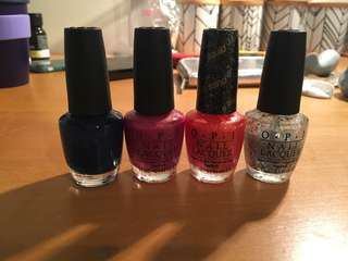 Opi nail polishes!