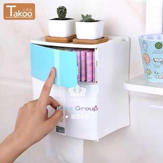 Non-punching Double Deck Paper Towel Box