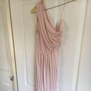 Pastel Pink Bridesmaid/Formal Dress