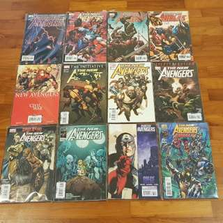 New Avengers 2005-10 complete run