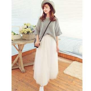 C008- white long dress