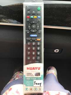 Remote for Sony tv