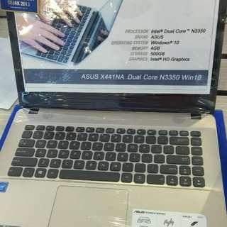 Asus X441NA-BX401T Cukup Dp + Free 1X Cicilan Tanpa kartu Kredit