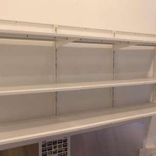 3 tier IKEA Algot shelves
