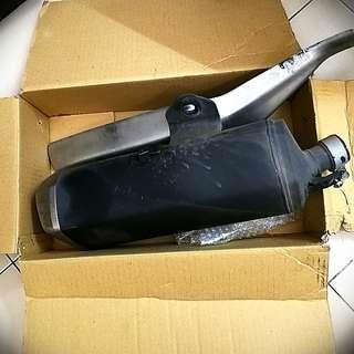 Original Kawasaki Ninja KRT 250 Exhaust Muffler