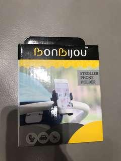 Brand new Bonbijou Stroller phone holder