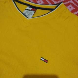 Tommy Jeans Mustard Yellow Sweater