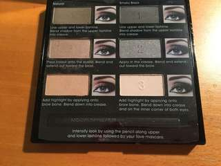 Models prefer smoky eye palette