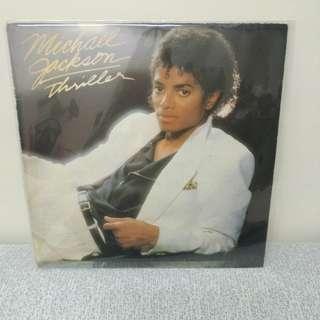1982 Michael jackson絕版lp黑膠唱片