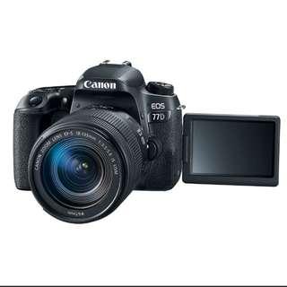 Cicilan Camera Canon EOS 77D