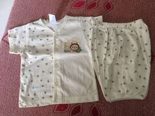 Baby Pyjamas short sleeve & short pants