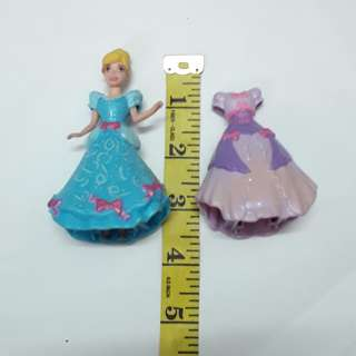 (Free postage) Disney Princess Cinderella Magic Clip On Dress