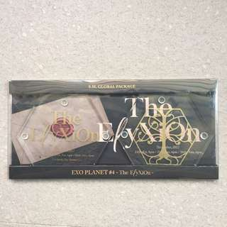 [BN] EXO Elyxion SM Global Package EXO Planet Concert Merch Glass Coaster