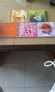 Blur, suede, garbage cds