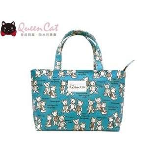 🚚 (現貨)藍色小熊淑女手提包