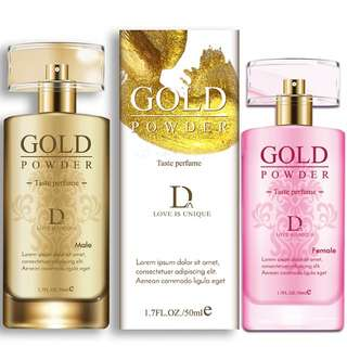 Golden powder  pheromone  perfume