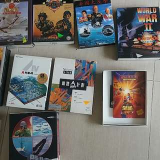 Floppy disk games x 10 boxes