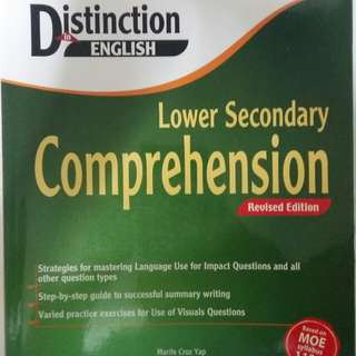 Marshall Cavendish Distinction In English - Lower Secondary Comprehension Revised Edition