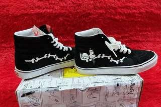 Vans SK8 Hi Reissue X @snoopygrams (Peanuts) Snoopy Bones/Blk