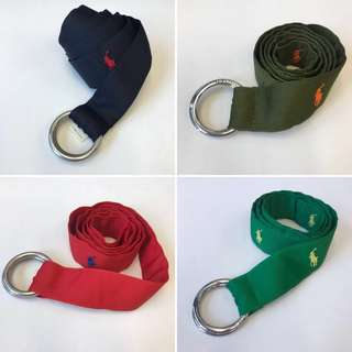 Polo Polyester Belt