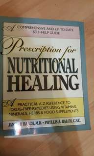 nutrition healing  and vegetarian dishes
