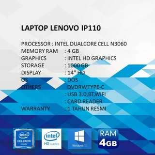 Kredit Laptop Bandung Lenovo IP110