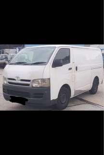 Toyota Hiace Rental