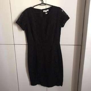 Forever 21 black dress (cocktail/formal)