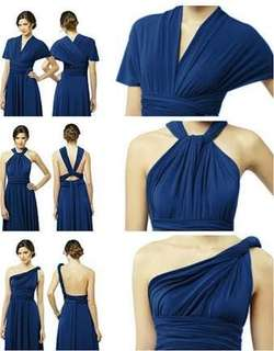 Infinity Gown (Royal blue)
