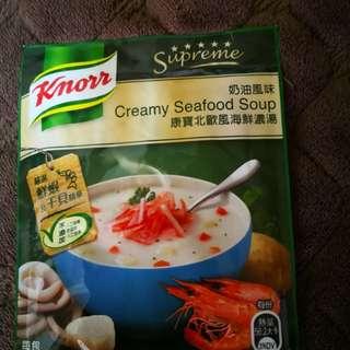 🚚 康寶北歐風海鮮濃湯(奶油風味)