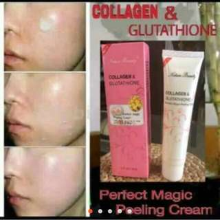 Collagen & glutathione (peelihg cream)