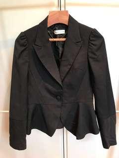 Playlord 條子超修身西裝外套 size 1