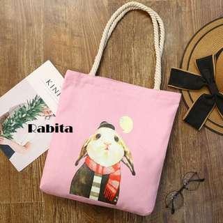 Rabita Canvas Tote Bag.