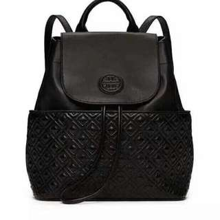 Tory Burch Marion quilted Black Backpack