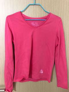 U2 ladies v neck Long sleeve top