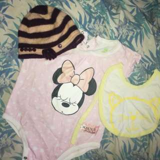 Mini mouse baby clothes