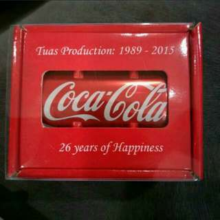 Limited coca cola can