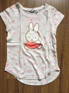 Cotton On Miffy Girls T-shirt