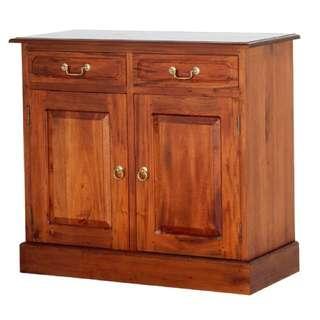 Teak Sideboard Buffet 2 Drawers 2 Doors Warehouse Sale