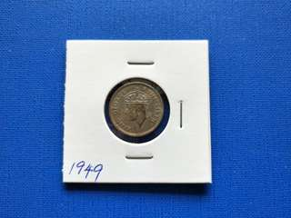 Malaya British Borneo King George vi 10 cent 1949