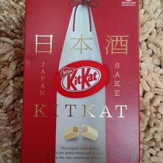 Kit kat japan sake