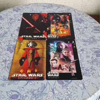 STAR WARS EPISODE 1 SPECIAL EDITION MRT CARDS